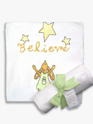 Light of Mine Designs Believe Receiving/Swaddling Blanket