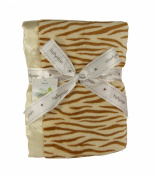 Plush Tiger Print Baby Blanket