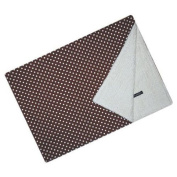 Cuddlbee bdbl108 Brown Dot Blanket
