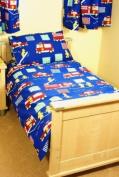 Fire Engine Cot Bed/Junior Duvet Set