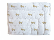 Smiling Planet Play Blanket, Small Lions