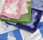 Moomin Chenille Blanket