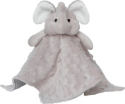 Elegant Baby Elephant Security Blankie, Grey
