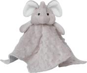 Elegant Baby Elephant Security Blankie, Grey