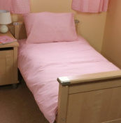 Pink Cot Bed /Junior Duvet Set 100% Cotton