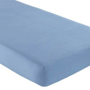 Blue Cradle Fitted Sheet - 100% Cotton - Jersey Knit