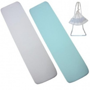 Pack of 2 Fitted Hammock Sheets (To fit Amby nest) 100% Cotton - 1 White & 1 Sky Blue