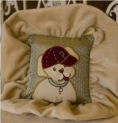 Jessica Mc Clintock Baby Puppy League Wee Darling Pillow