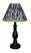 Lamp Shade for Lime Zebra Baby Bedding Set By Sisi