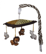 Musical Mobile for African Safari Baby Bedding Set By Sisi