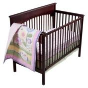 Circo Owls N Floral 3pc Baby Girl Crib Bedding Set