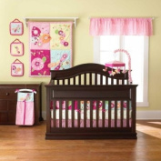 Floral Flutter 8 Piece Baby Crib Bedding Set by Too Good by Jenny