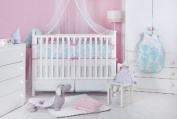 Novela Ela Organic 3 Piece Crib Bedding Set