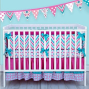Caden Lane Ikat Collection Lila Crib Bedding Set