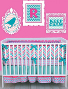 Caden Lane Ikat Collection Ryleigh Crib Bedding Set
