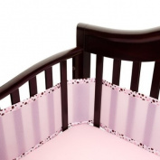 Breathablebaby Bumper Pink/ecru