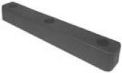 IMPERIAL 4833 RUBBER DOCK BUMPER 40.6cm X6.4cm X5.1cm