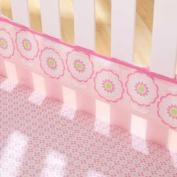 Flowers Fresh Air Crib Liner