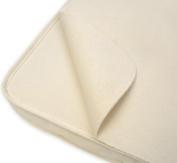 Organic Cotton Waterproof Flat Portable Crib Protector Pad