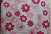 Sumersault Girls Floral Crib Sheet