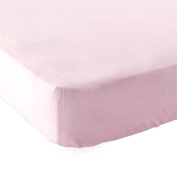 Luvable Friends Fitted Pack N Play Sheet, Pink