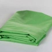 Fitted AirCrib Sheet with Quilted Padding - Green