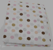 Beansprout Mod Daisy Crib Sheet, Pink