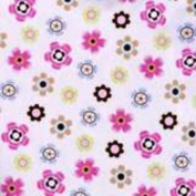 Circo Crib Sheet - Flowers