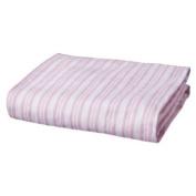 Circo Stripe Pink Fitted Crib Sheet