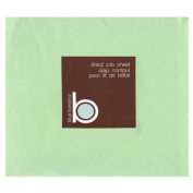 Blue Banana Jersey Knit Fitted Crib Sheet, Sage
