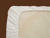 Naturepedic Organic Cotton Fitted Sheets - Stokke Sleepi Fitted Ivory Sheet SK40I