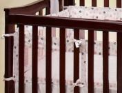 Nautica Secure-Me Mesh Crib Liner, Isabella