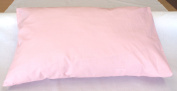 Junior/Cot Bed Pillowcase Pink