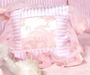 "Jessica McClintock Baby ""Blushberry Dream"" Wee, Darling Pillow Decorative"