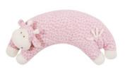 Angel Dear Curved Pillow Pink Giraffe