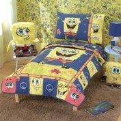 SpongeBob 4pc Toddler Bedding Set