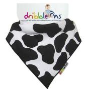 Dribble Ons Designer Dribble - Cow Print.