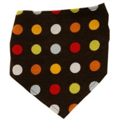 Beautiful Baby Bibs in Red Brown Dots Corduroy, Best Baby Gifts