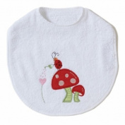 Mushroom Natureland Bib by The Little Acorn
