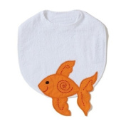 Goldfish Funny Friends Bib by The Little Acorn