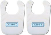 *Twin Baby Bibs* 'Copy/Paste' bibs