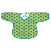 Green Sprouts by i play. Frog Waterproof Bib - Toddler baby gift idea