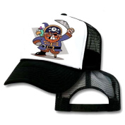 Pirate Kids Toddler Mesh Trucker Hat Cap