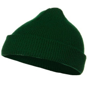 Infant Knit Cuff Beanie - Forest Green W20S14F