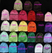 (10) Mix Assorted Waffle Beanie Hats