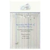 BLUE ELEPEHANT & TEDDY BEAR Baby Boy Birth Announcement Card Kit