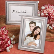 Fashioncraft Matte Silver Metal Place Card/Photo Frames