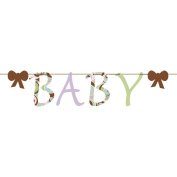 Baby Letter Garland