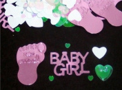 Beistle CN049 Baby Girl Confetti - Pack of 6