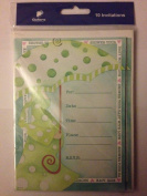 Gallant Greetings - Baby Shower - 25.4cm vitations & Envelopes